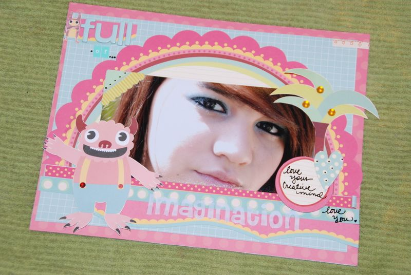 Suzy full of imagination