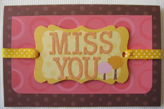 Melanie stanczyk card 2 miss you lil' critter.JPG