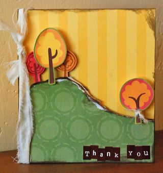MLS - Thank you card (simple life)
