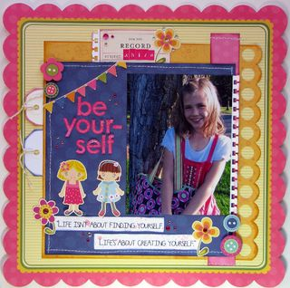 Melanie Stanczyk Oct Cute a Button line example 2 girl