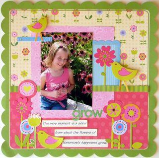 Melanie Stanczyk December layout Sunday Market GROW