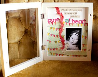 Pure of heart shadowbox