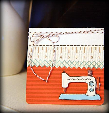 Sew cute sew much card