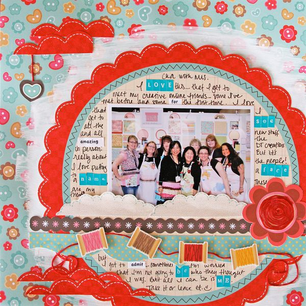 Scrapbooking layouts with sew cute my little shoebox pronofoot35fo Image collections