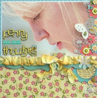 Melinda - Penny For Your Thoughts layout