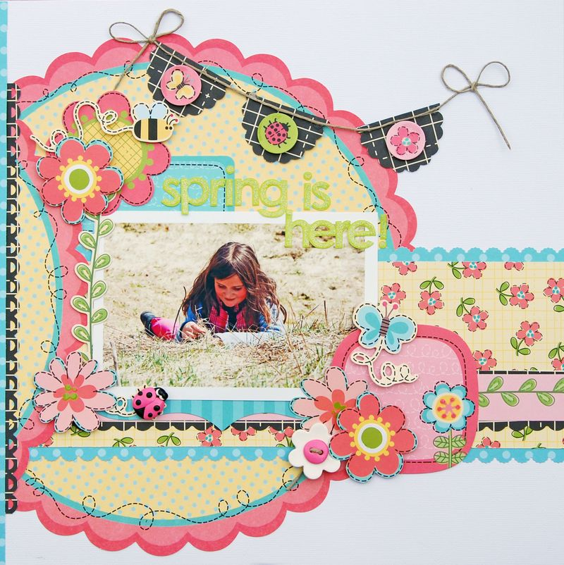 Zoe N - Garden Party - May - Layout 3