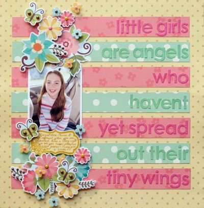 Melinda - EG - SEP - Little Girls Layout