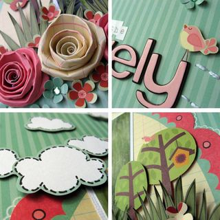 Melinda - Isn't she lovely collage