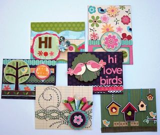 Card Set Shelly Home Tweet Home