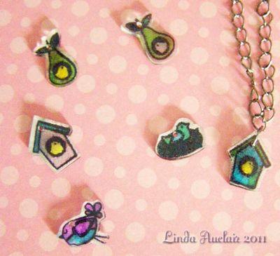 Charm bracelet charms