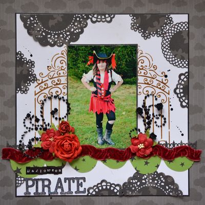 November Trick or TReat Layout 3