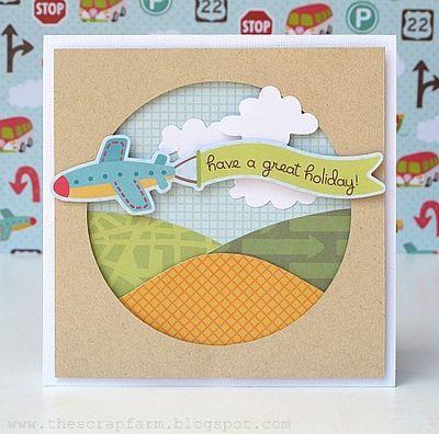 Melinda - NOV - DES - Plane card