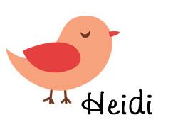Bird Guest Siggy heidi