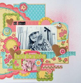 Zoe N - Garden Party - May - Layout