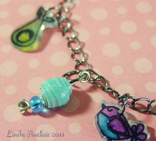 Charm bracelet bead