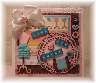The Scrapping Cottage -Cottage Cutz(Sew sweet) 002