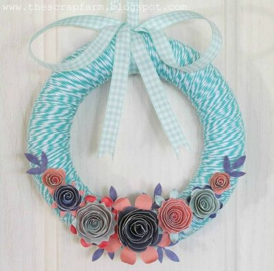 Melinda - OCT - PLT - Floral Wreath