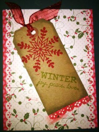 Nov Card 2 Shelly Berg Winter Wonderland