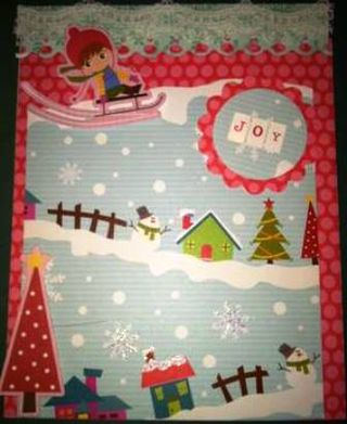 Nov Card 3 Shelly Berg Winter Wonderland