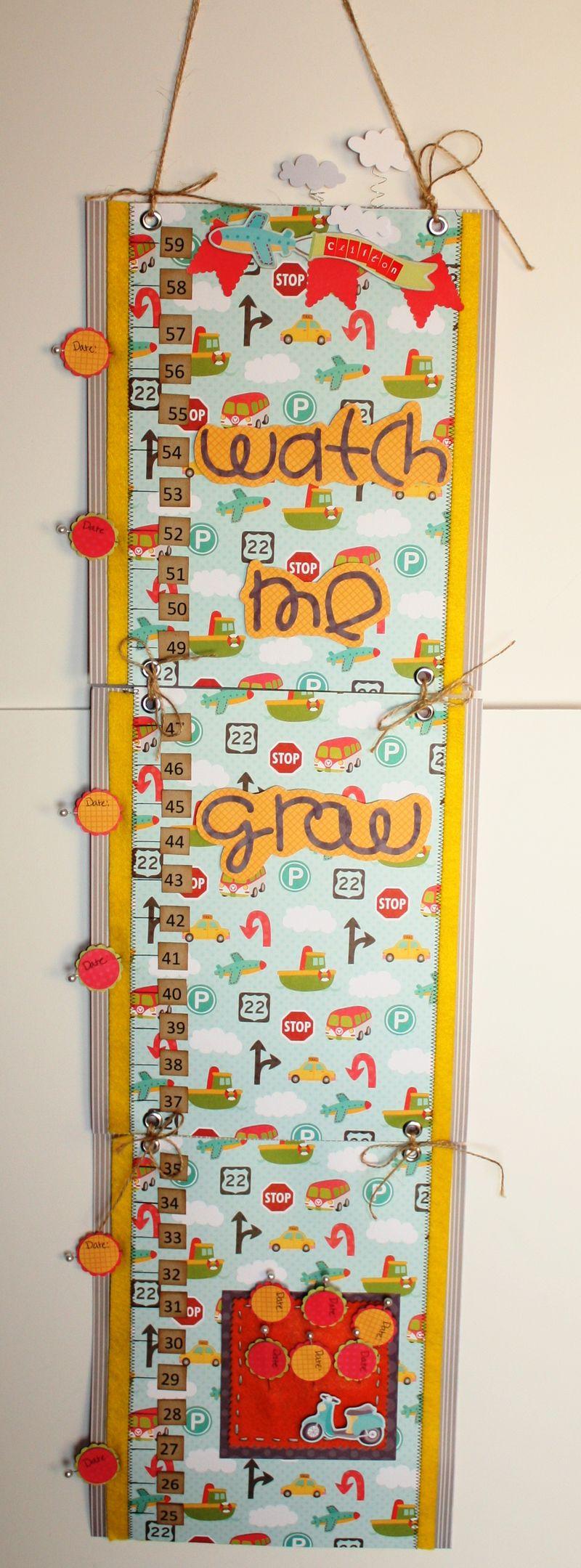 My little shoebox- growth chart-pattie beltran