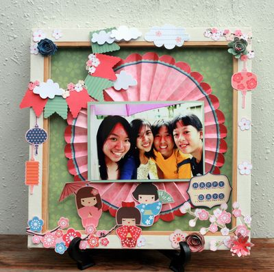 Pearl Feb 2012 Aiko Shadowbox