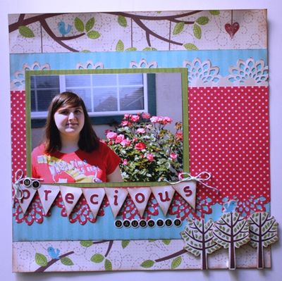 My Little Shoebox- pattie beltran layout