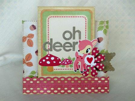 Beckie Dreyer Oct Ass Oh Deer card 1