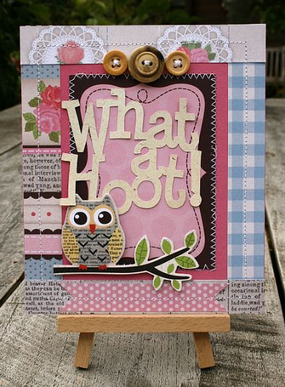 Mliedtke what a hoot card